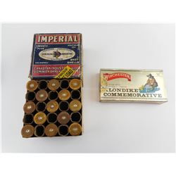 CIL IMPEIRAL 12 GAGUE #2 FIRED SHOTSHELLS, WINCHESTER .30 WIN AMMO