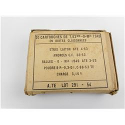 FRENCH 30-06 FMJ AMMO