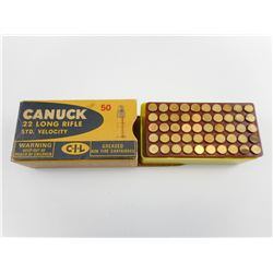 CIL CANUCK 22 LONG RIFLE AMMO