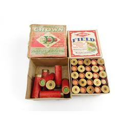 DOMINION 12 GAUGE SHOTSHELLS, WESTERN 20 GAUGE SHOTSHELLS