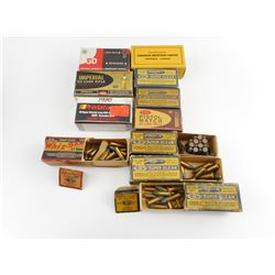 22 LONG RIFLE COLLECTIBLE ASSORTED AMMO