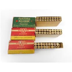 .303 SAVAGE  ASSORTED AMMO, BRASS CASES