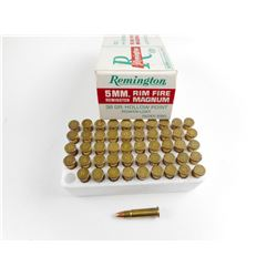 REMINGTON 5MM RIM FIRE MAGNUM AMMO