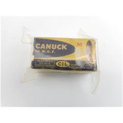 .22 W.R.F. CANUCK AMMO