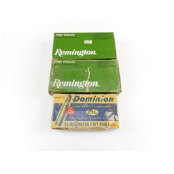 35 REMINGTON ASSORTED AMMO