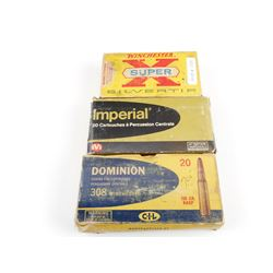308 WINCHESTER ASSORTED AMMO