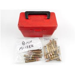 8MM MAUSER ASSORTED AMMO