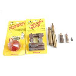 57 SNIDER AMMO, 401 SL AMM, 50 MM DUMMY RND, BLACK POWDER ACCESS.