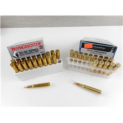 30-06 SPRG. ASSORTED AMMO