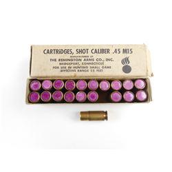 REMINGTON ARMS CO INC. .415 M15 SHOT CALIBER AMMO