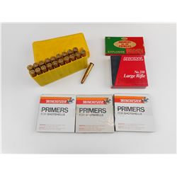 32 WIN SP AMMO, ASSORTED PRIMERS