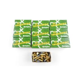 REMINGTON THUNDERBOLT 22 LR AMMO