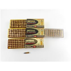 IMPERIAL 22 LONG RIFLE AMMO ASSORTED