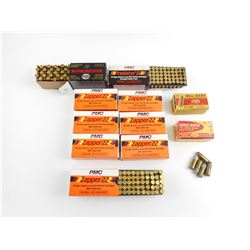 22 LONG RIFLE ASSORTED AMMO, 32 AUTO