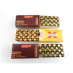 GEVELOT AND WINCHESTER 22 SHORT AMMO