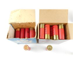 12 GAUGE AND 20 GAUGE SHOTGUN SHELLS