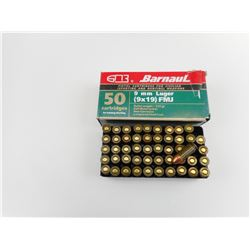 BARNAUL 9MM LUGER AMMO
