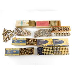 9MM ASSORTED AMMO, BLANKS, AND BRASS CASES