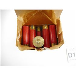 CIL METOR SHOTSHELL PRIMED CASES 12 GA 2 5/8