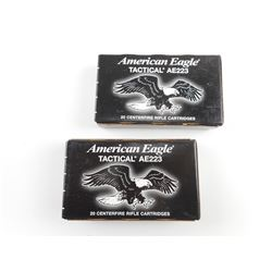 AMERICAN EAGLE TACTICAL 223 REM AMMO