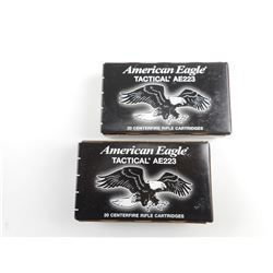 AMERICAN EAGLE 223 REM TACTICAL AMMO