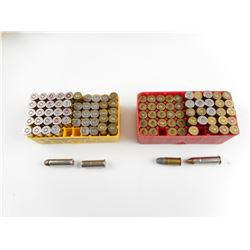 38 CAL, AND 357 ASSORTED AMMO