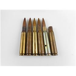 .50 CAL BMG TRACERS, FMJ AMMO