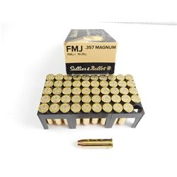 SELLIER & BELLOT .357 MAGNUM AMMO