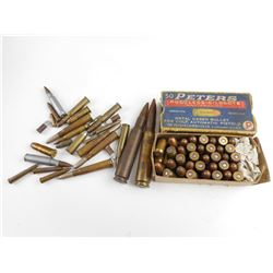 PETERS .45 A.C. AMMO, ASSORTED AMMO