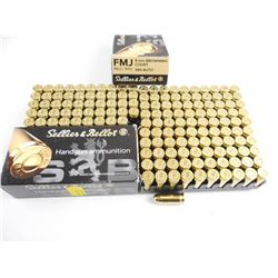 SELLIER & BELLOT 9MM BROWNING COURT AMMO