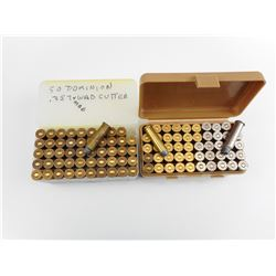 .357 MAG RELOADED AMMO IN PLASTIC CASES