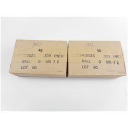CANADIAN ARSENALS .303 BRITISH MK7Z BALL AMMO