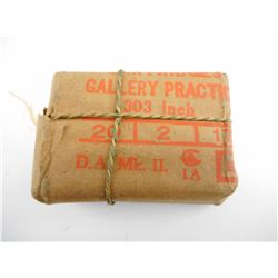 WWI PACKET OF CANADIAN GALLERY PRACTICE 303 AMMO