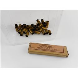 U.S. MILITARY .45 ACP AMMO AND BRASS