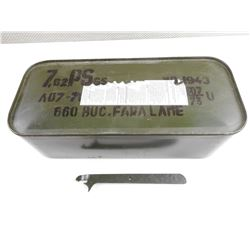 7.62 X 39 FMJ SURPLUS AMMO IN SPAM CAN