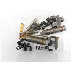MILITARY 20MM, DUMMY ROUNDS, MG LINKS