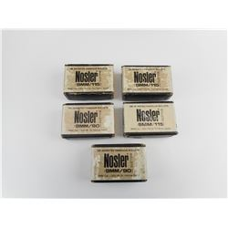NOSLER 9MM 115 GRNS BULLETS