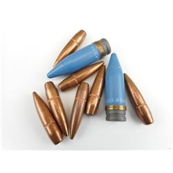 .50 CAL AND 20MM PROJECTILE LOT