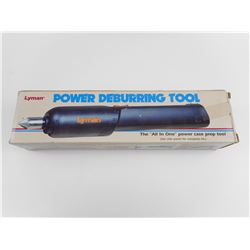LYMAN POWER DEBURRING TOOL