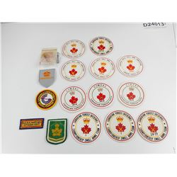ASSORTED CANADIAN FORCES SHOOTING COMPETITION BADGES
