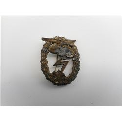 WWII GERMAN LUFTWAFFE GROUND ASSAULT BADGE