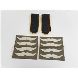 REPRODUCTION WWII GERMAN SHOULDER BOARDS