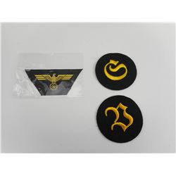 WWII GERMAN ENLISTED ARMY BADGES