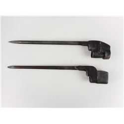 LEE ENFIELD NO4 SPIKE BAYONETS. NO SCABBARDS