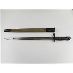 ENFIELD P1917 BAYONET WITH SCABBARD