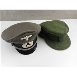 REPRODUCTION WWII GERMAN CAPS