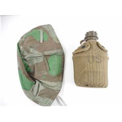 MILITARY CANTEEN AND HELMET COVER