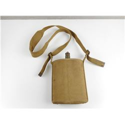 WWII CANADIAN CANTEEN WITH CARRYING CASE