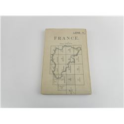 WWI FRENCH MAP
