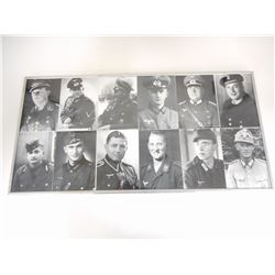 WWII PORTRAIT'S OF GERMAN SOLDIERS